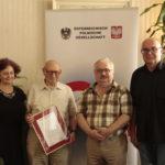 90 rocznica urodzin. prof.Kanitzera 25.06.16r. Wieden1